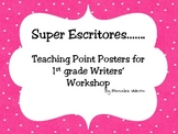 Writing Teaching Points Posters in Spanish