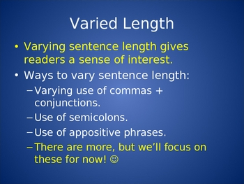 Writing Technique