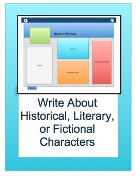 Writing + Technology: Creative BIOGRAPHIES: Grades 4-12