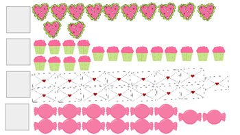 Writing Teen Numbers: Valentine's Day Edition