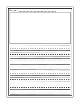 Writing Template | Writing Template By Rachel Kovacyk Teachers Pay Teachers