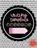 Writing Template Freebie