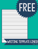 Writing Template Lines (Back)
