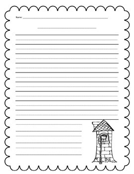 Writing Template for Fairytale