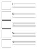Writing Template with MANY uses! UPDATED