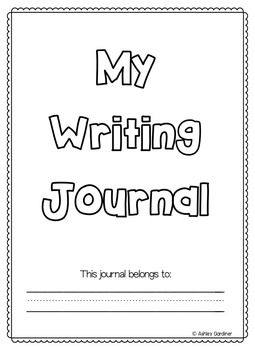Kindergarten Writing Paper with a Box {5 Writing Papers with Pictures Boxes}