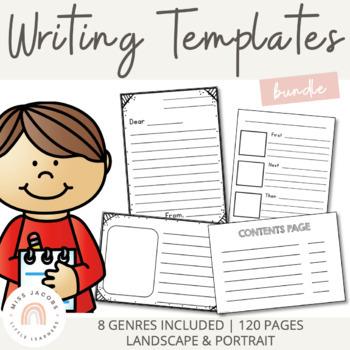 Writing Templates {Bundle}