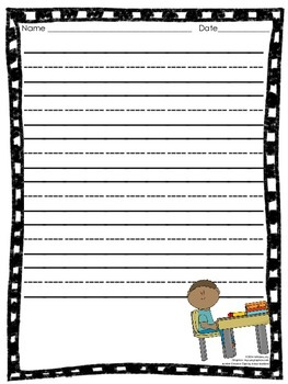 Writing Templates (Back to School)