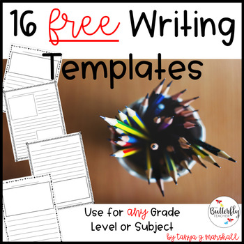 FREE Writing Templates
