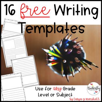 FREE Writing Templates