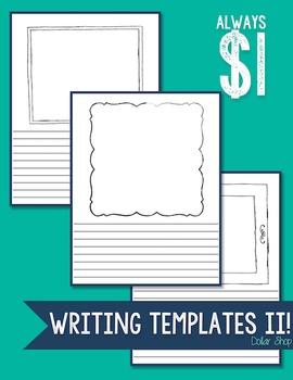 Writing Templates II