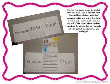 Writing Templates-Math and Science Journals/Writing Paper in Spanish and English
