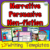 BUNDLE Narrative Persuasive Non-fiction Writing Templates and Crafts