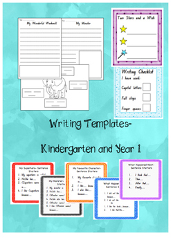 Writing Templates and Sentence Starters