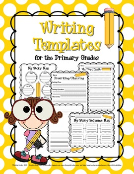 Writing Templates for the Primary Grades: Prewriting, Drafting, & Publishing