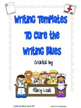 Writing Templates to Cure the Writing Blues