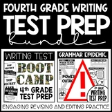 Writing Test Prep Bundle - 4th Grade Writing - Revise and Edit