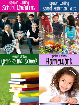 *BTSBONUS* Writing Prompts - PARCC, AIR & Smarter Balanced Assessment {Bundle}