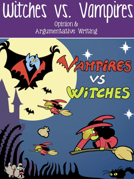 Writing Test Prep- FSA, AIR , & PARCC Paired Passages & Prompt {Halloween/Fall}