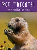 Writing Test Prep - FSA, AIR, STAR, & PARCC Paired Passages {Informative}
