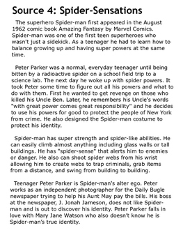 *BTSBONUS* Superhero Opinion Writing {Paired Passages & Prompt}