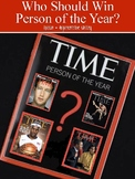 Person of the Year Close Reading & Writing Response