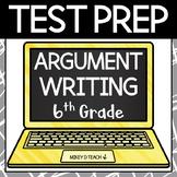 Writing Test Prep Packet - Grade 6 Argument