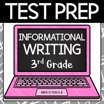 Ohio test prep teaching resources teachers pay teachers writing test prep packet grade 3 informational fandeluxe Choice Image