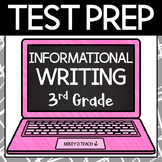 Writing Test Prep Packet - Grade 3 Informational