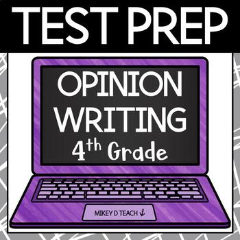 Writing Test Prep Packet - Grade 4