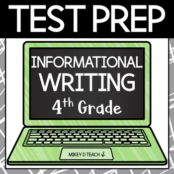 Writing Test Prep Packet - Grade 4