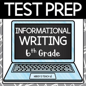 Writing Test Prep Packet - Grade 6