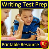 Writing Test Prep Standardized Testing Argumentative and Informative