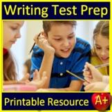 Writing Test Prep Standardized Testing Argumentative and Informative