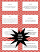 Writing Test Prep 4th Grade Vocabulary Bingo