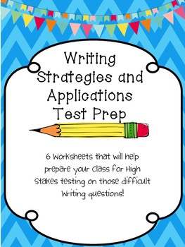 Writing Test Prep for Editing and Revising