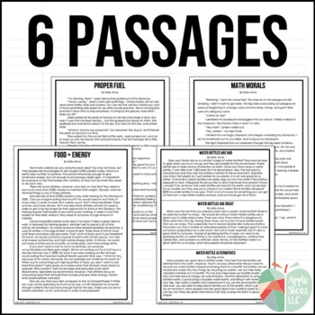 Writing Test Prep & Paired Passaged for Upper Elementary