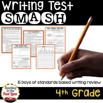 Writing Test Smash a Test Prep Resource