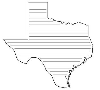Writing: Texas Map