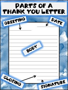 Writing Thank You Letters