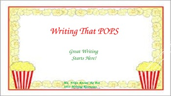 Writing That POPS!