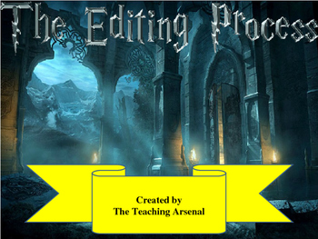 Writing - The Editing Process (with Harry Potter)