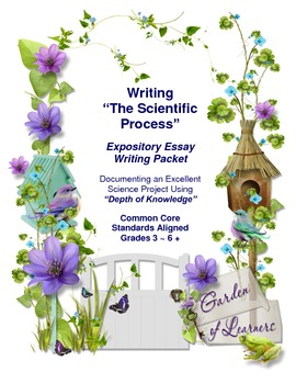 """Writing """"The Scientific Process"""" ~ An Expository Essay Packet"""