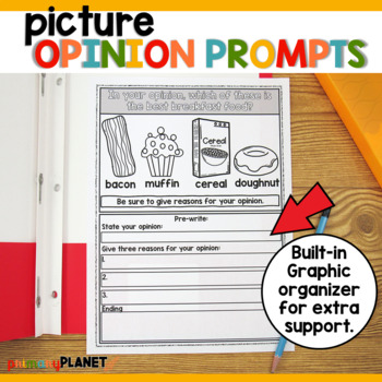 Year Long Ultimate Writing Prompts Bundle Writing Workshop, Centers, or Journals