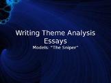 Writing Theme Analysis Essays