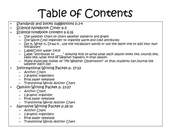 Writing Through Science (2nd grade Common Core Science and Writing standards)