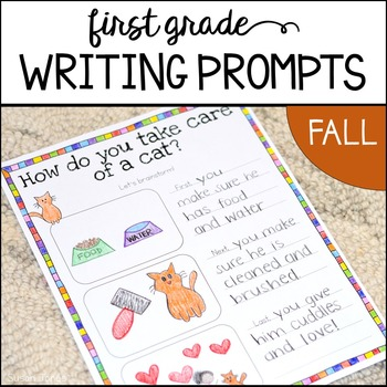 Back to School Writing Prompts {Fall}