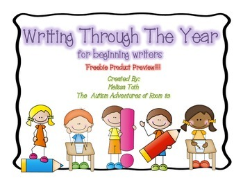 Writing Through The Year- Preview