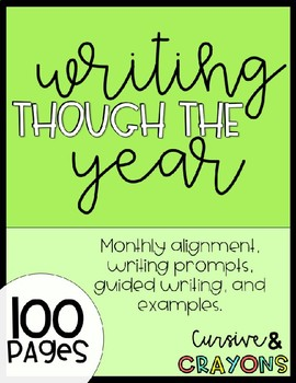 Writing Through The Year Unit