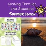 Summer Journal Writing
